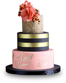 New 2015 I Do! Collection Wedding Cake HLD 2