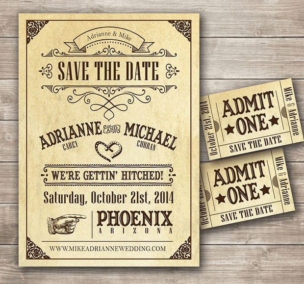 wedding basics save the date cards and invitations