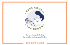 wedding grooming tips for the groom